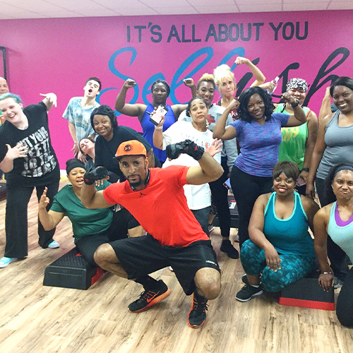 fitness boot camp class